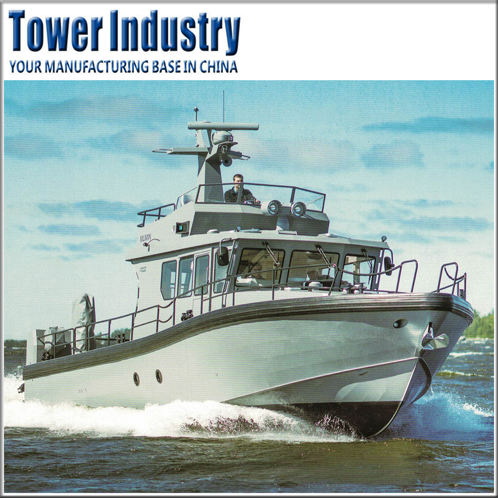 14.88m High Quality Aluminum Official Business Patrol Boat Law Enforcement Vessel Yatch for Government