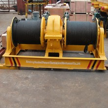 CE approved dual drum bush winch