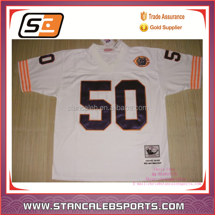Stan Caleb wholesale custom youth womens american football jersey/uniforms