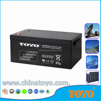 Deep cycle 12v Voltage batteries 12v 250ah lead acid battery for Solar System