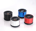Wireless samll round portable speaker with Optional FM radio made in China N9