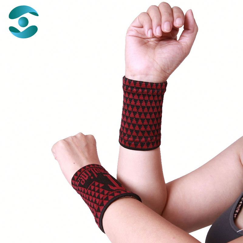 Wholesales Tennis Sports Magnetic Wrist Support Hand Protector