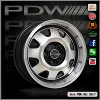PDW brand chrome wheels , zhejiang alloy wheels factory near yiwu