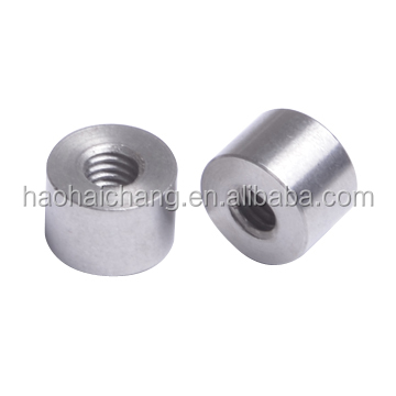 Customized precision lathe machine parts threaded stud bolt