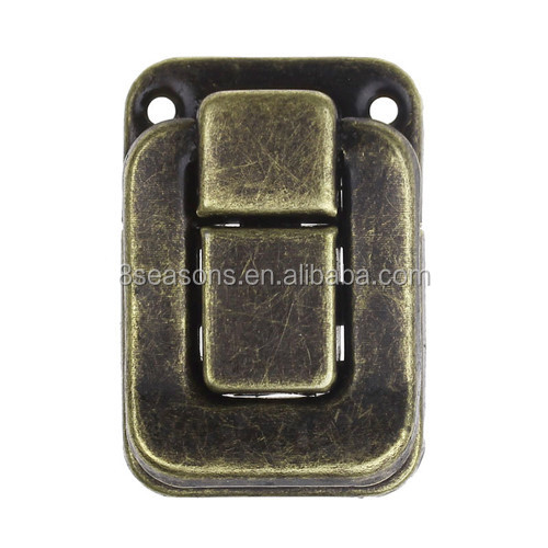 Antique Bronze Toggle Catch Latch Case Lock For Suitcase Trunk Jewelry Box Case Box
