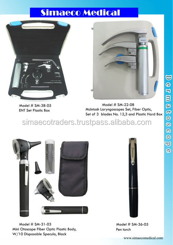 Laryngoscopes, Otoscopes, Diagnostic Set,pen toruch