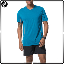 Hot sale OEM service unisex running shirt dry fit crossfit merino wool t shirt