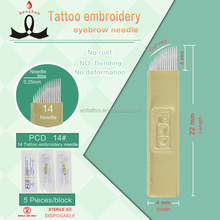 Disposable Microblading Permanent Makeup Blade Tattoo Needle