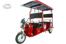 2017 new design electric passenger tricycle for india