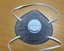 N95 Mask Active Carbon With Valve High quality cheap price respirator mask
