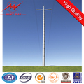 110KV connical or polygonal distribution power poles for power transmission