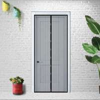 Screen Doors with Magnetic for Keep Fly Bug Out, Heavy Duty Mosquito Door Net, Keeps Bugs Out