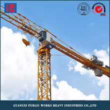 Latest Technology Building Construction Flat Top Tower Crane