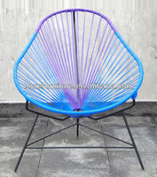 PE rattan acapulco outdoor Mexico classic string chair