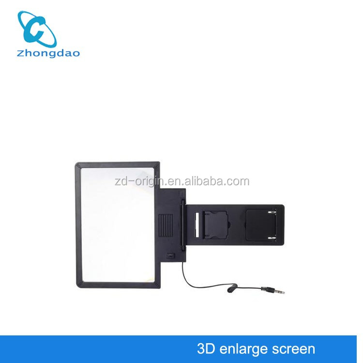 Top Selling 3D Movie Foldable Mobile Phone Enlarge Screen Magnifier with Speaker