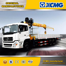 XCMG original manufacturer SQ-series straight arm truck mounted crane 2 ton jib crane truck 2 ton truck mounted crane sale