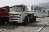 Tri-ring 6X4 Diesel 3 Axle The Tractor Truck/Truck Tractor/International Tractor Truck Head
