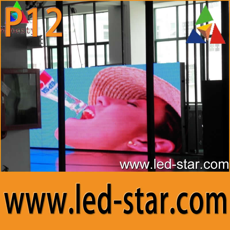 HOTSTAR full color outdoor P12 led display screen stage background led video wall from Shenzhen Hot electronics