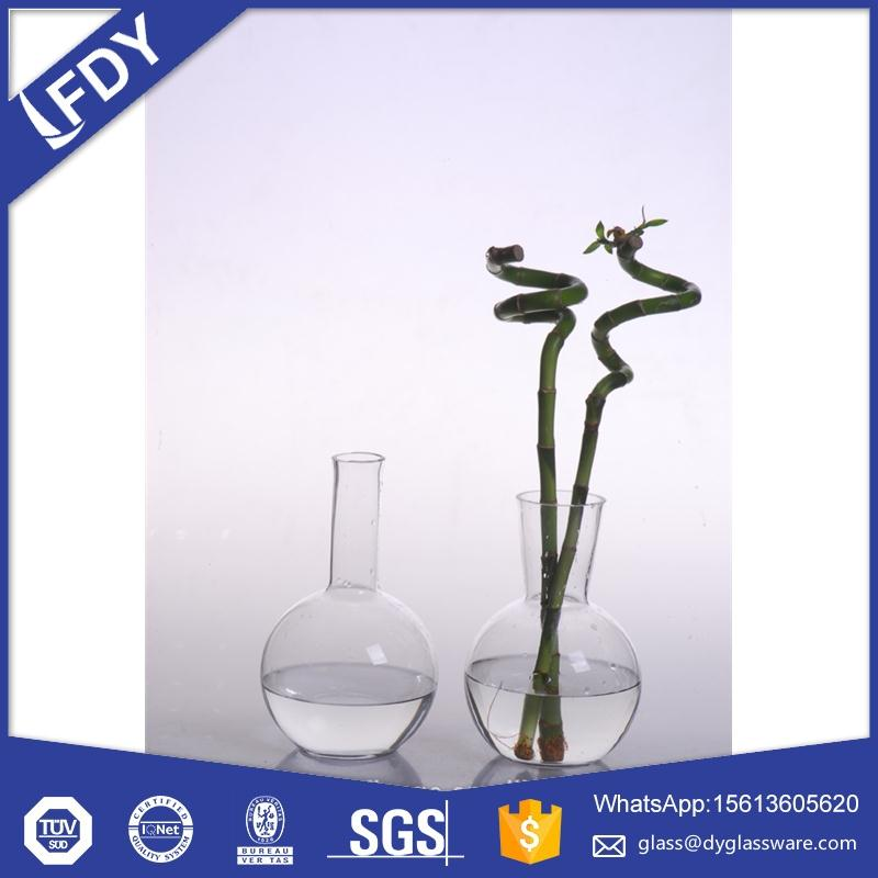 Glass Centerpieces Tall Vases Wedding Event Decorations Flower Arrangements Vase Clear geometric glass cage candle holder