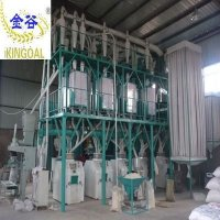 Top quality Kingoal factory Flour milling and packing machine