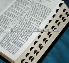 kraft paper book printing printing service factory Holy bible printing service