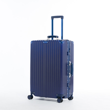 Factory Supply suitcases luggage OEM ABS+ PC suitcase with drawers of four wheels