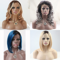 Promotion! Factory Direct Selling Celebrity Lace Front Human Hair Wig