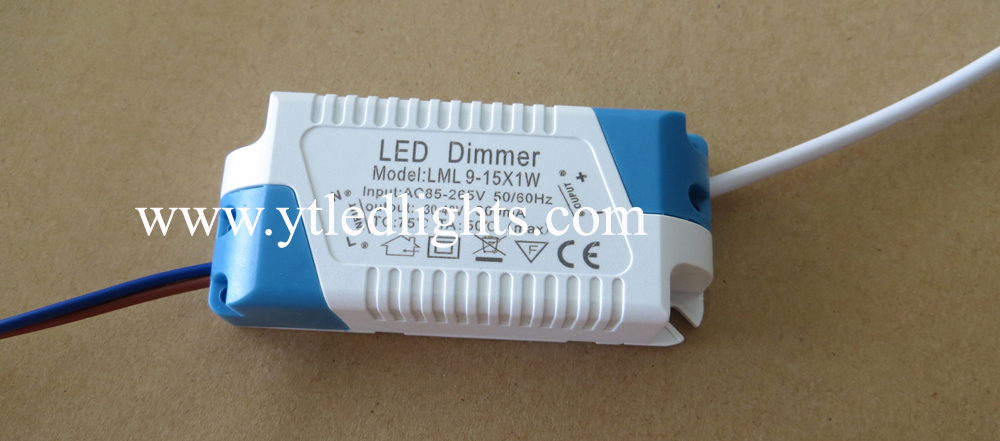 dimmable led power supply for panel light 9-15W constant current led driver power supply adapter high quality 3 years warranty