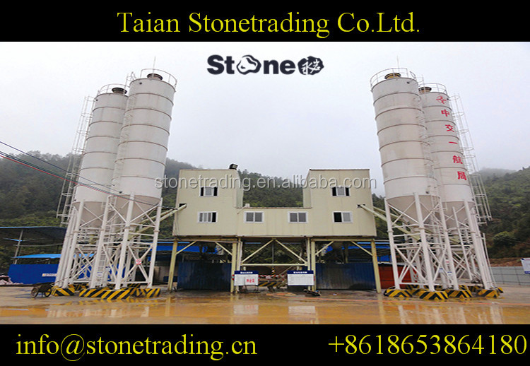 HZS75(3hoppers) Concrete Batching Plant ,Factory Direct Selling, Ready Mixed Concrete Mixing Plant Machine