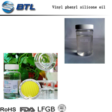 High refractive index methyl vinyl phenyl silicone oil for Electronic sealants