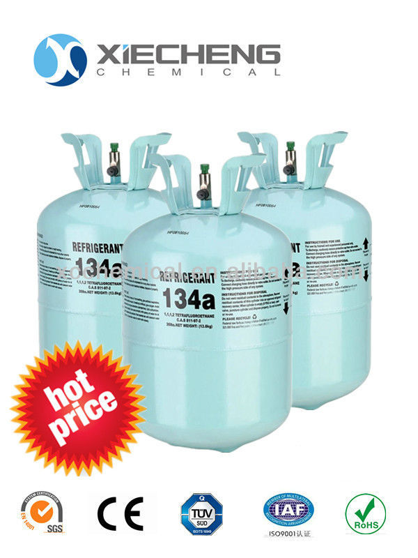 High purity r134a refrigerant for sale