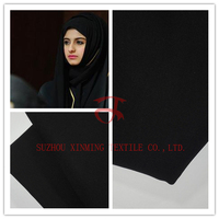 Wool Peach Muslims Woven Formal Black for abaya