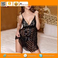 beauty's love solid transparent glove, studded teddy leather lingerie, attractive style women naughty babydoll teddy