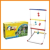 Ladder Golf Ladder Toss Game with 6 Bolos and Carrying Case