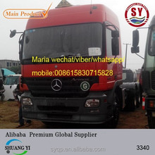 used actros mp2 3340 truck in sale