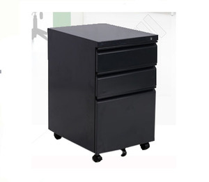 Hot sale cheap 3 drawer mobile pedestal metal file storage cabinet