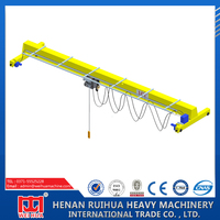 China Customized Single Girder Electric Overhead Bridge Travelling Crane