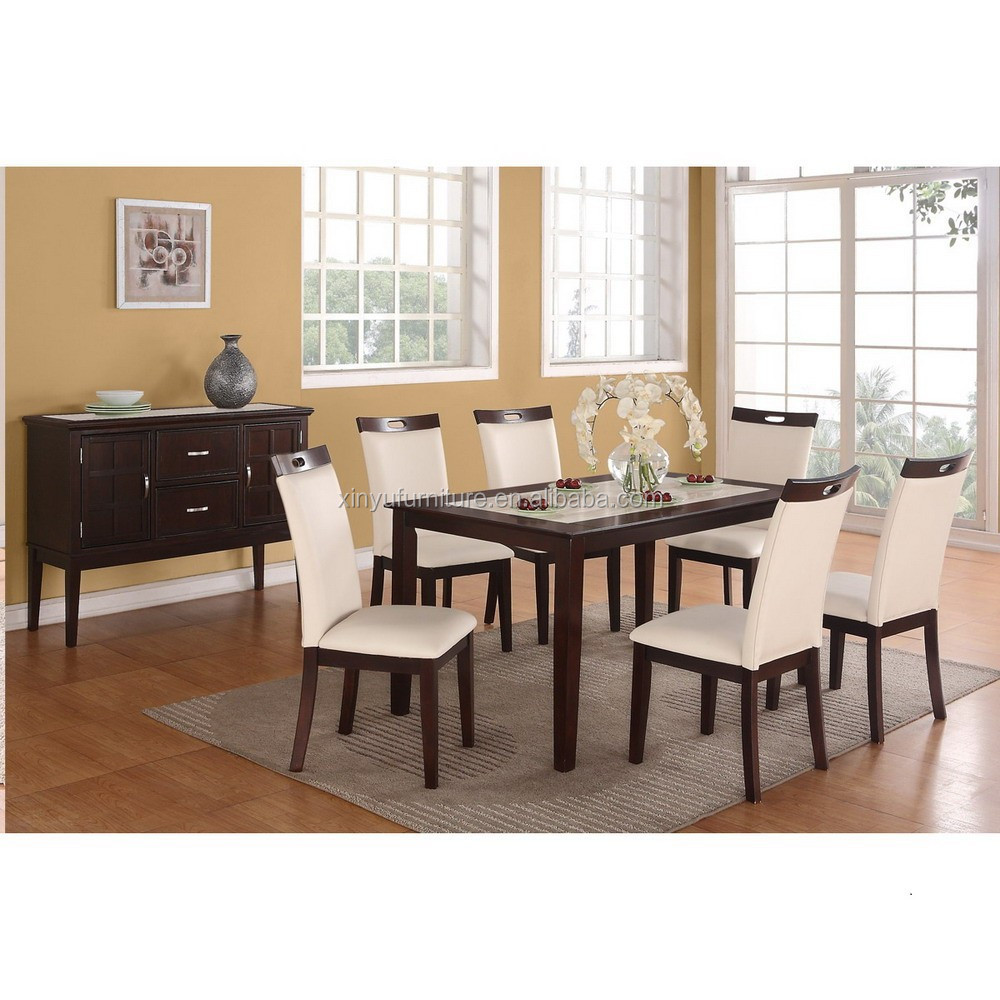 2016 fashionable house furniture dining set XYN1480