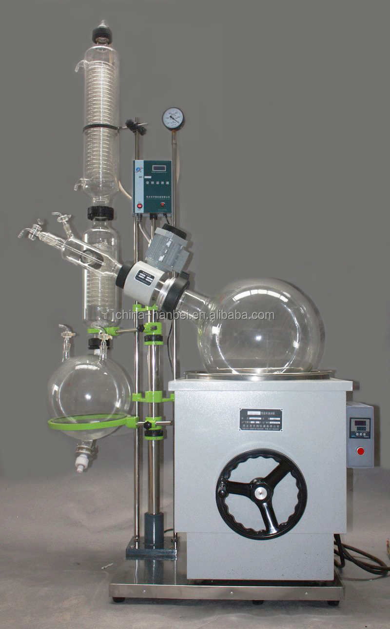 lab vacuum pharmaceutical jacketed glass chemical reactor
