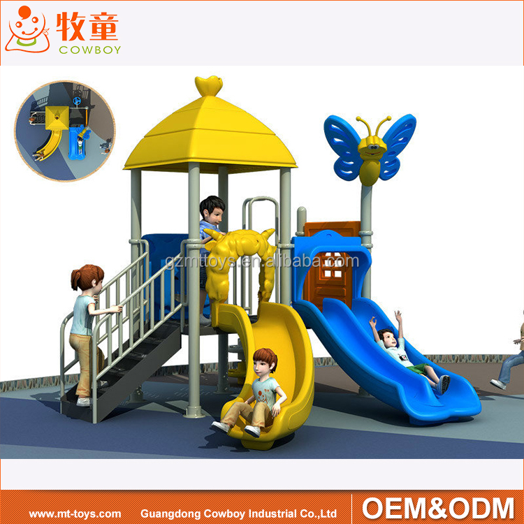 cheap price outdoor children used playground slides equipment for sale