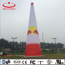 huge promotional cone shaped inflatable LED light column