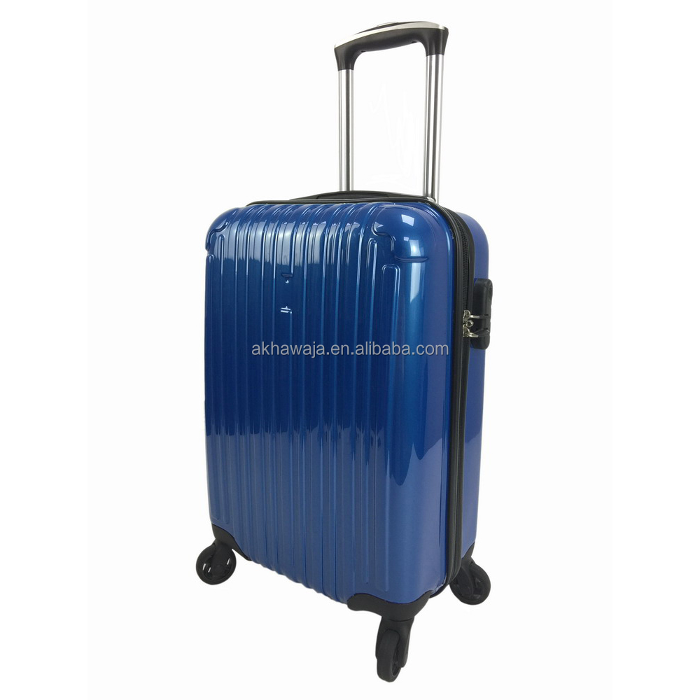 ABS PC wheeled cabin trolley luggage lightweight luggage