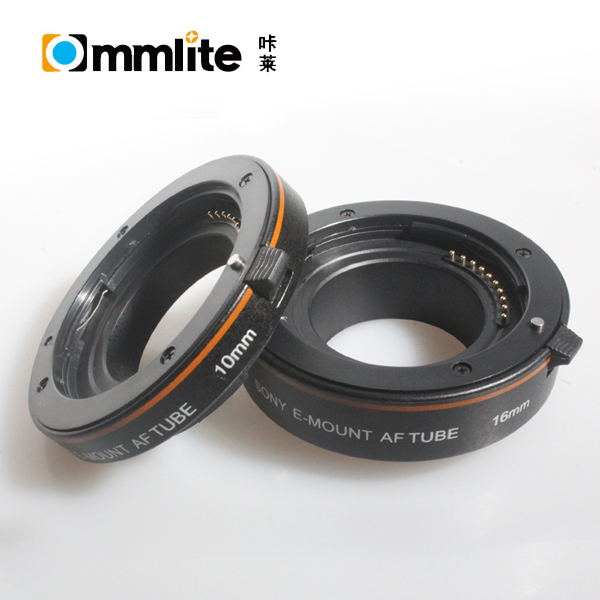 Commlite Automatic AF Macro Extension tube set for Sony NEX E-Mount Camera NEX 3 3N 5 5N 5R A7 A7R