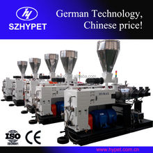 EURO type high output HYZS45/100 conical twin screw pvc extruder