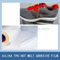 hot pressing film TPU film for bonding synthetic leather and mesh fabric together on shoes upper