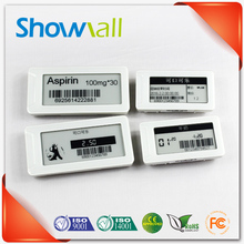 Dot matrix e ink label digital price tags in e-paper for supermarket