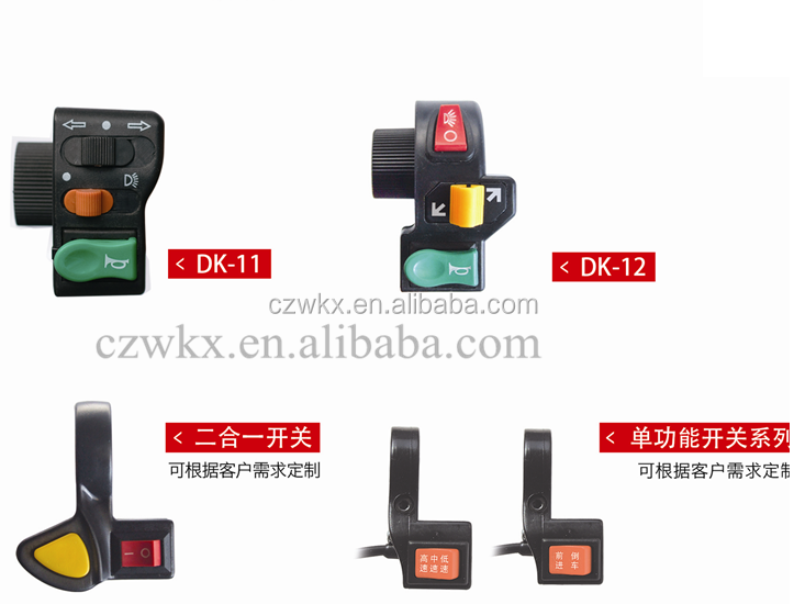 e car conversion kits- all kinds of speed switch