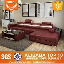latest luxury exclusive home good furniture designs l shape leather sofas