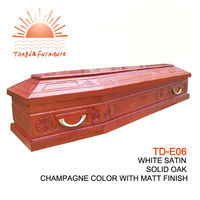 TD--E06 BABYCONE US Style Cheap Wood Veneer Infant Casket For Loved Baby