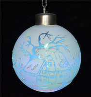 New decoration christmas item type, ball with led bulb, house and tree as garden decor from online christmas products alibaba